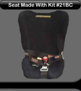 Seat Made With Kit #21BC Seat Made With Kit #21BC